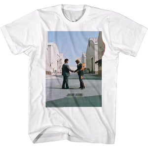 Pink Floyd Man on Fire White T-Shirt