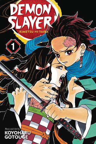 DEMON SLAYER: KIMETSU NO YAIBA VOL 01
