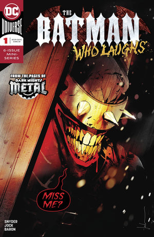BATMAN WHO LAUGHS #1