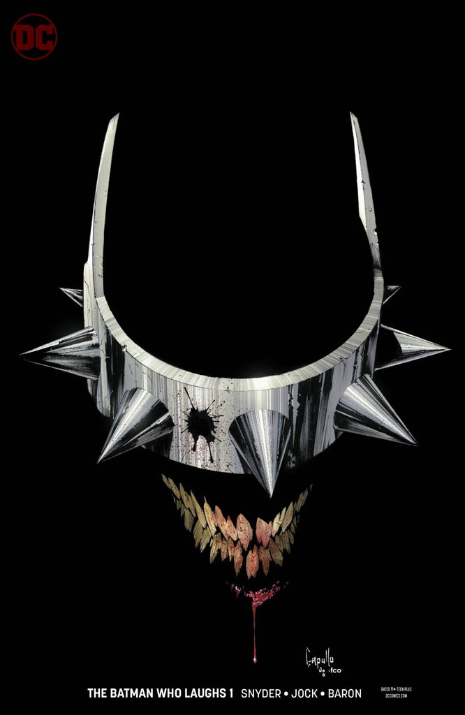 BATMAN WHO LAUGHS #1 VARIANT