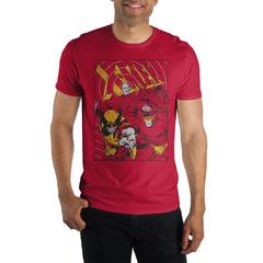 Image of X-Men Wolverine Red T-Shirt