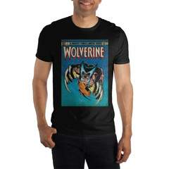 Wolverine Claws Out Limited Series  Men's Black T-Shirt
