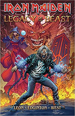 IRON MAIDEN Legacy of the Beast TP Vol 1
