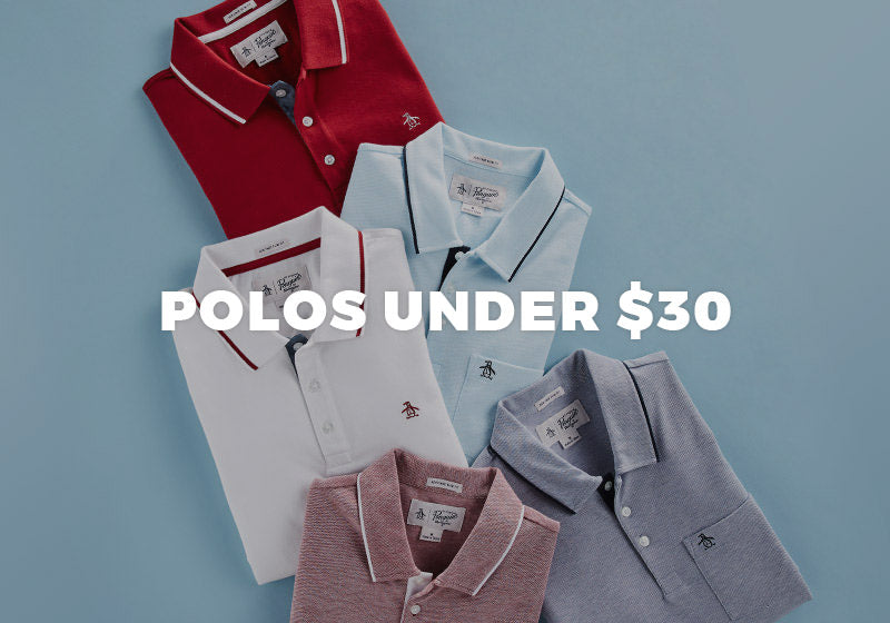 POLOS UNDER $30