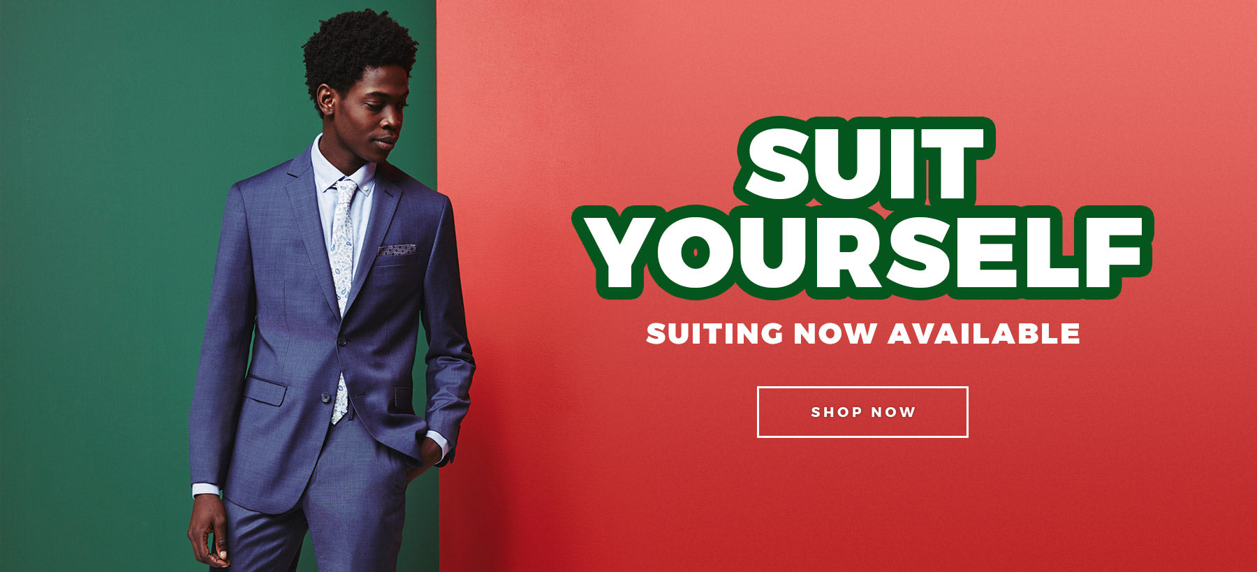 Suit Yourself - Suiting Is In - Shop Now