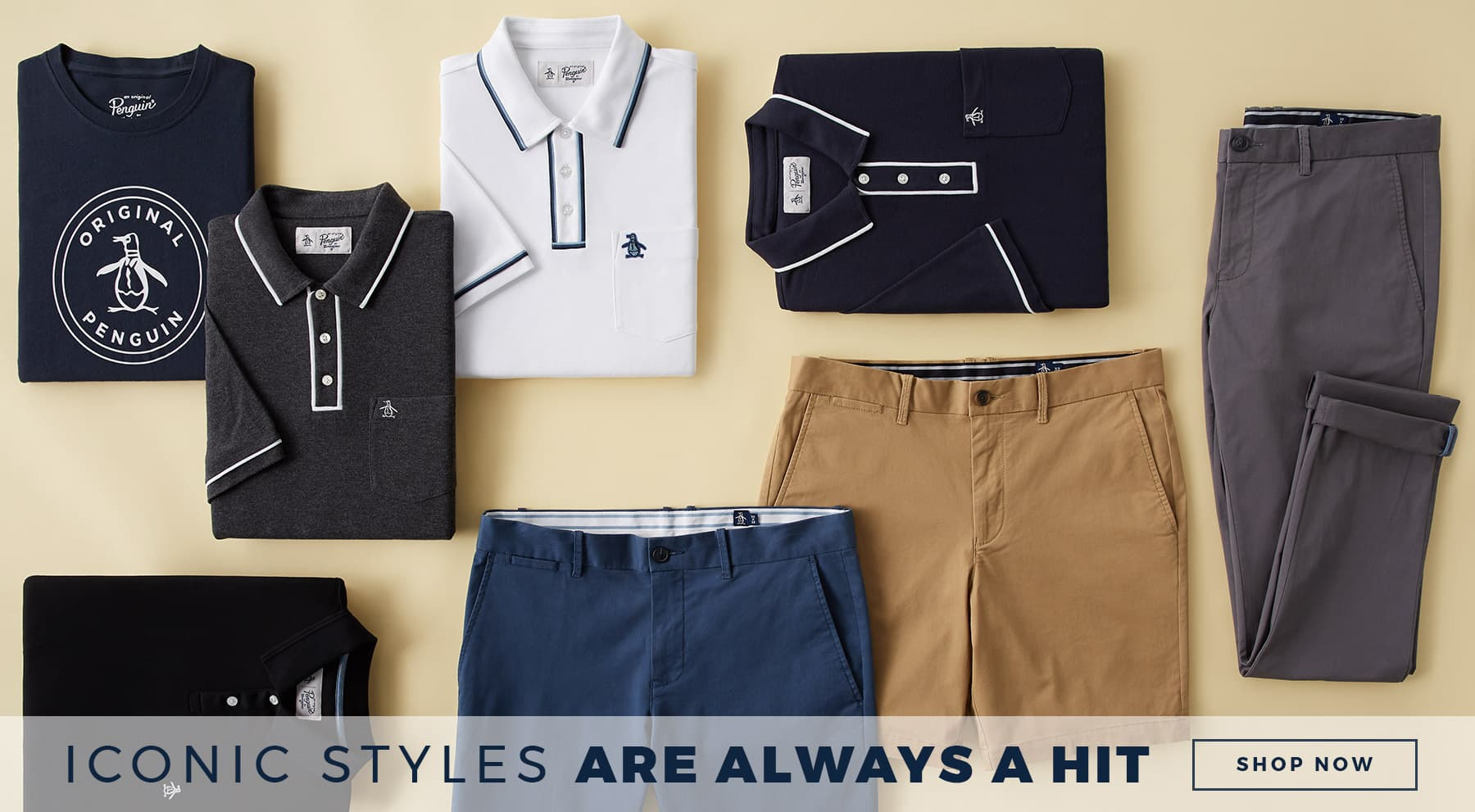 Iconic styles are always a hit SHOP NOW