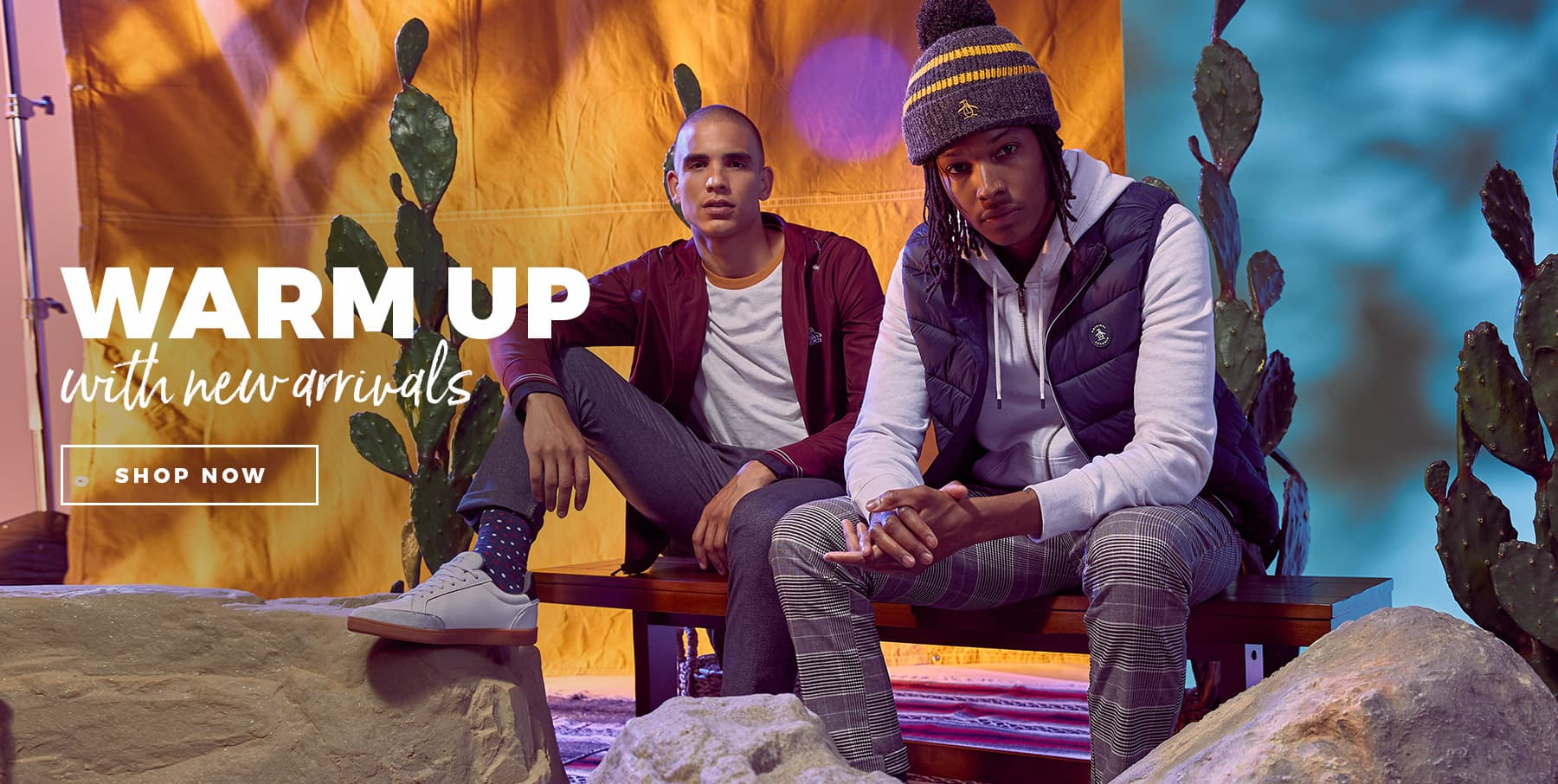 Warm Up With New Arrivals - SHOP NOW