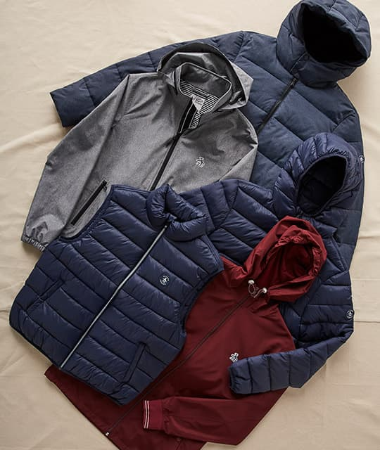 Beat the Weather SHOP OUTERWEAR