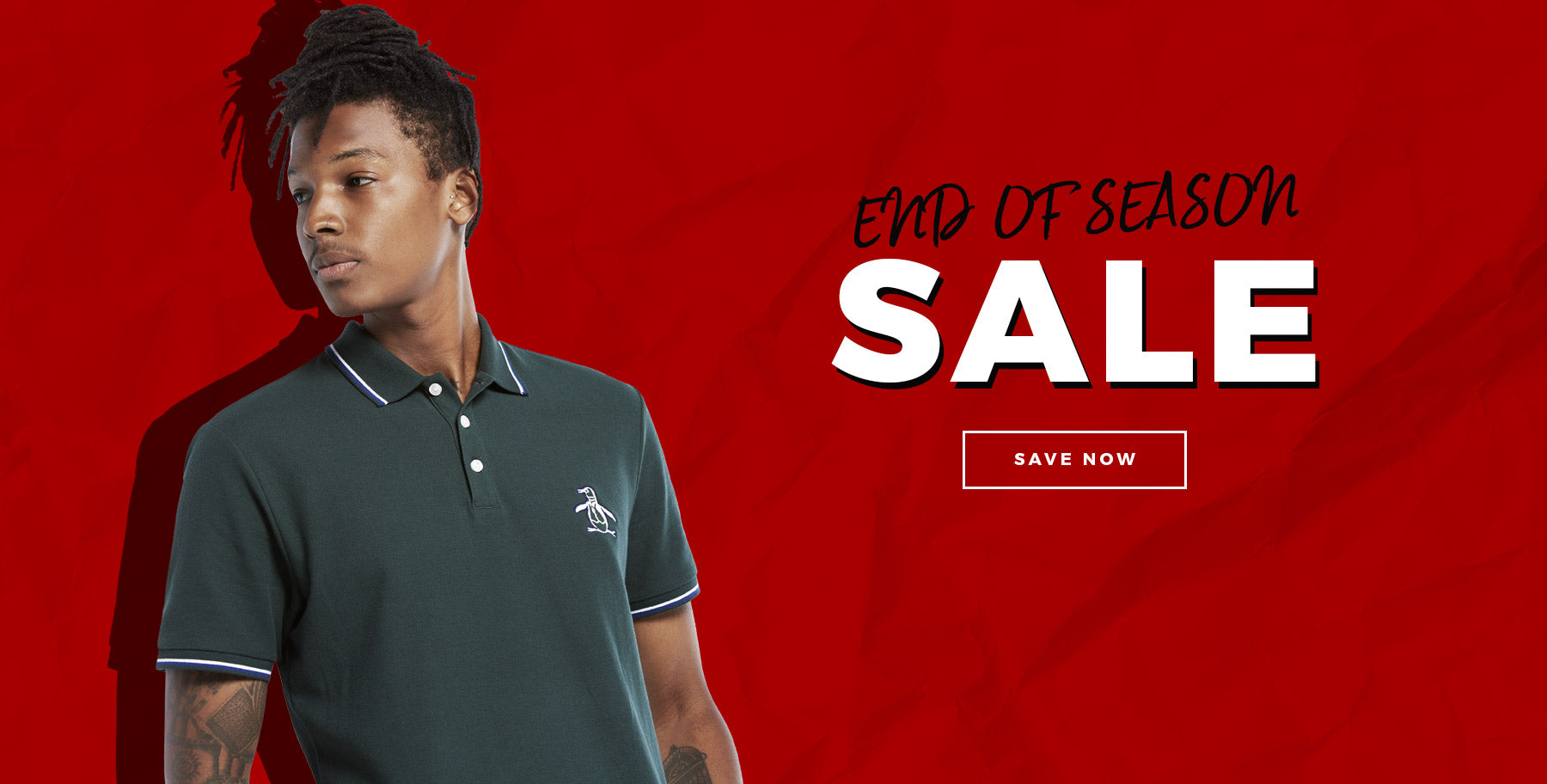 End Of Season Sale - Save Now