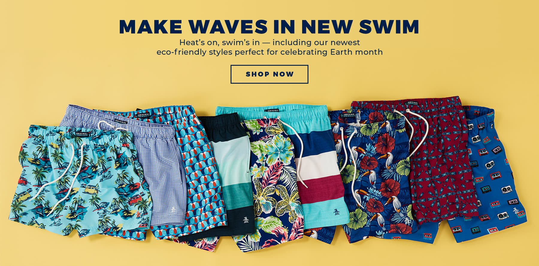 MAKE WAVES IN NEW SWIM - Shop Now