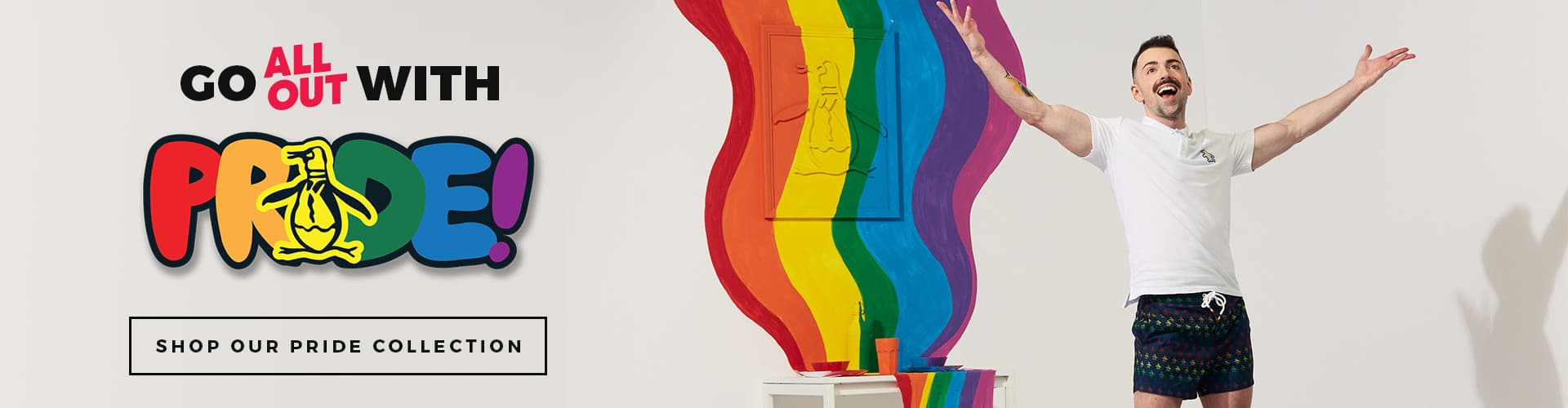 Go All Out With Pride - Shop Our Pride Collection