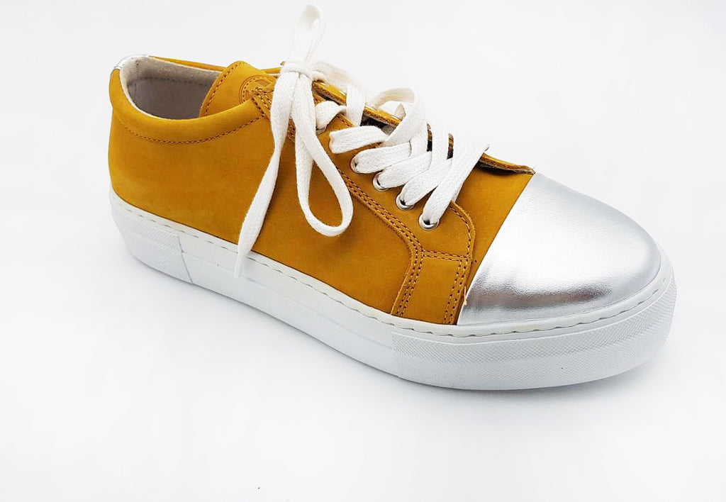 ET AL Shoe Design | Sigrid, eleganter Damen Sneaker Curry