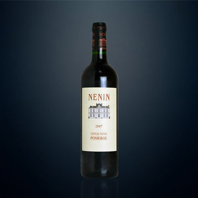 Château Nenin, Pomerol Nenin 2007 (Limited stock allocation, email for enquiry)