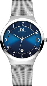 Blue Face Mens Watch