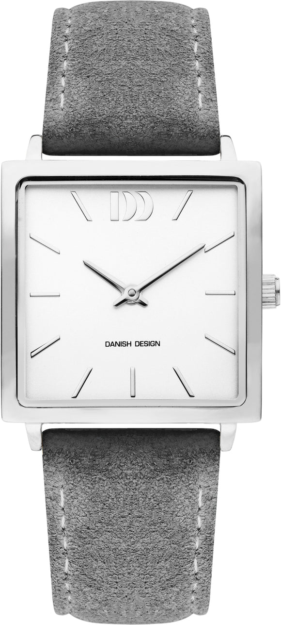 Grey Square Ladies Watch