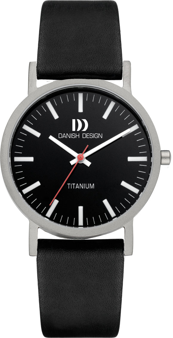 Black Titanium Mens Watch