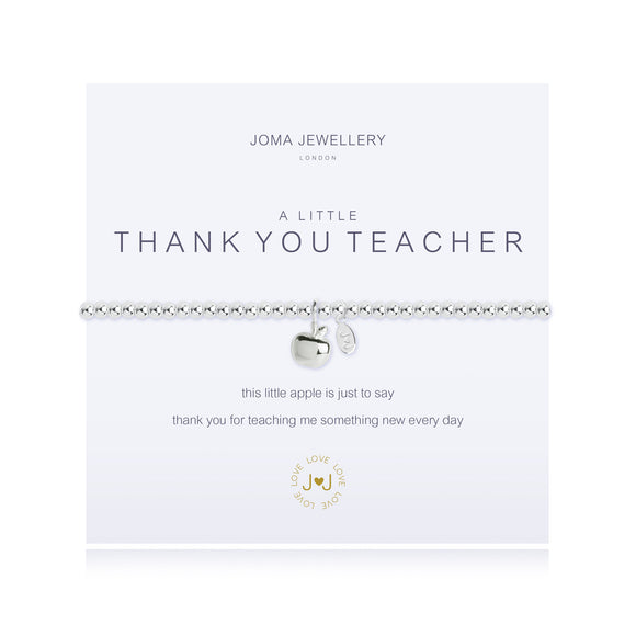 A Little Thank You Teacher Bracelet