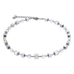 Pave Crystal Coeur De Lion Necklace