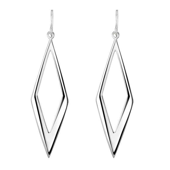 Triangular Shape Drop Earrings