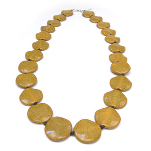 Riri Long Mustard Necklace