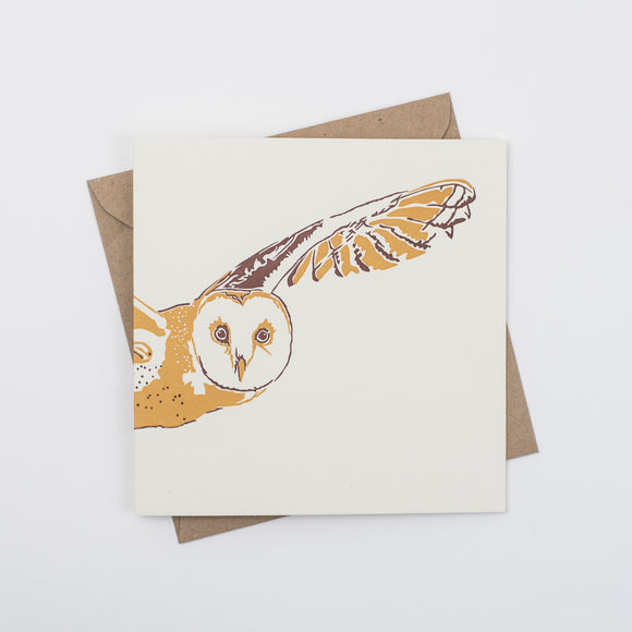Luxury Wild Card - Barn Owl