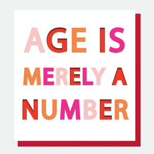 Age Is Merely A Number