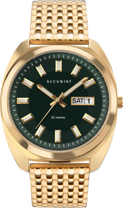 Retro Gold Mens Watch