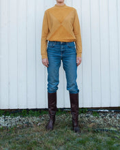 Load image into Gallery viewer, The Nor sweater with terry - Gold