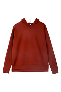 The Hilda hoodie - Brick red