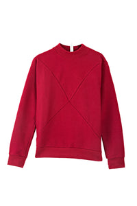 The Nor sweater - Dark red