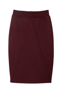The Tova skirt - Wine