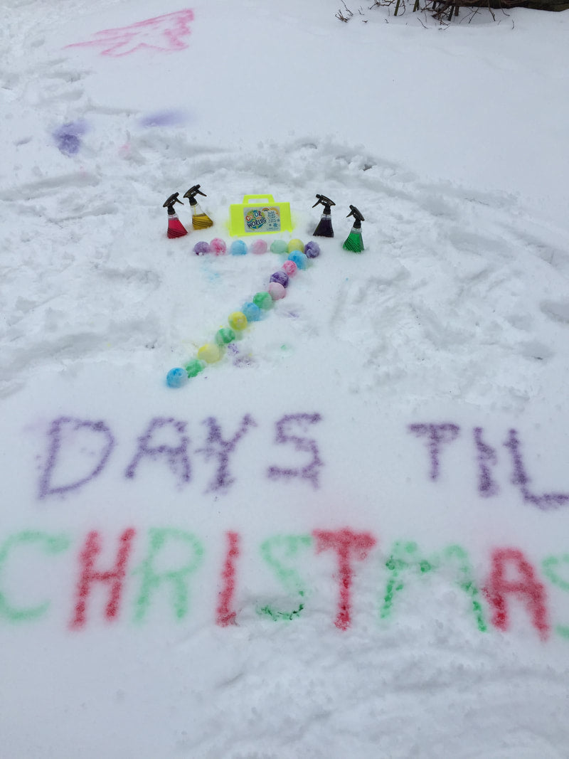 7 Day Colorful Countdown to Christmas!