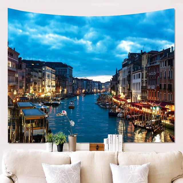 BEAUTIFUL CITY NIGHT WALL TAPESTRY-Tapestry-THE TAPESTRY STORE