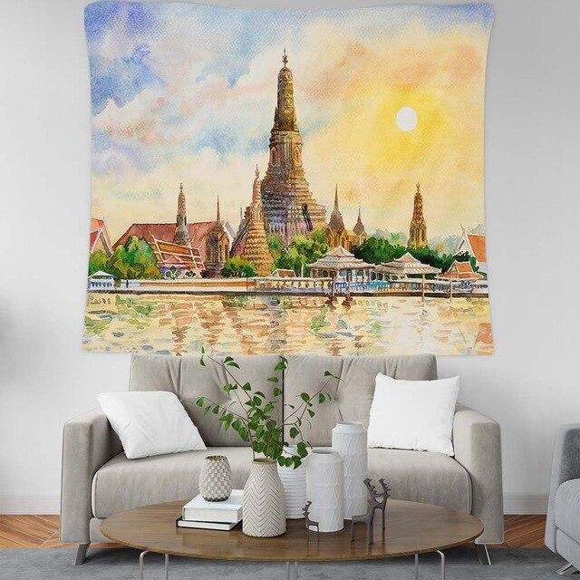 BEAUTIFUL PICTURESQUE MURAL DESIGN TAPESTRY-Tapestry-THE TAPESTRY STORE