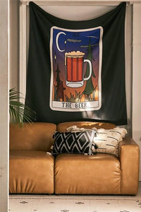 BEER TAROT TAPESTRY-Tapestry-THE TAPESTRY STORE