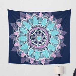 BOHEMIA MANDALA ELEPHANT STYLE TAPESTRY-Tapestry-THE TAPESTRY STORE
