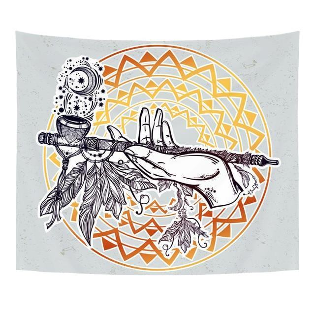 BOHEMIAN INDIAN TAPESTRY WALL HANGING-Tapestry-THE TAPESTRY STORE