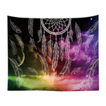 'COSMIC DREAMS' DREAM CATCHER TAPESTRY-Tapestry-THE TAPESTRY STORE
