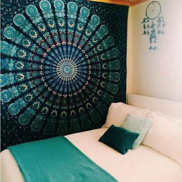 'DREAM CATCHER' STYLE MANDALA BOHEMIAN TAPESTRY WALL HANGING-Tapestry-THE TAPESTRY STORE
