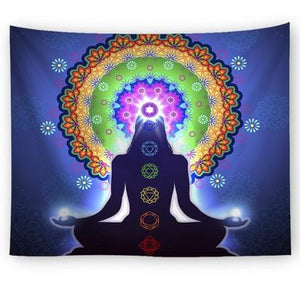 GANESHA STYLE TAPESTRY-Tapestry-THE TAPESTRY STORE