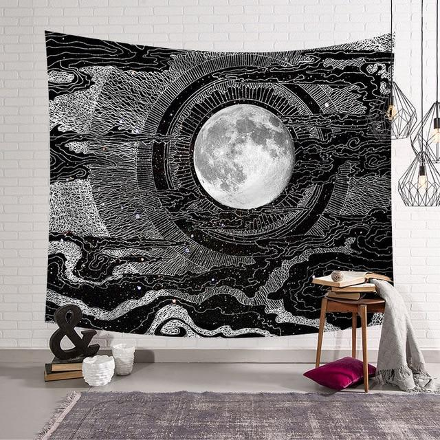 'MOON ILLUSUION' TAPESTRY-Tapestry-THE TAPESTRY STORE