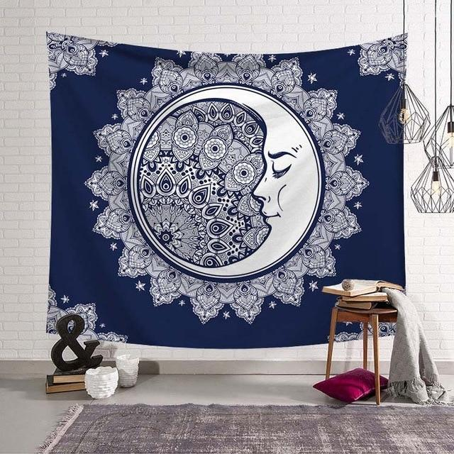 'MOON MAGNIFY' MANDALA TAPESTRY-Tapestry-THE TAPESTRY STORE