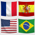 NATIONAL FLAG TAPESTRIES-Tapestry-THE TAPESTRY STORE