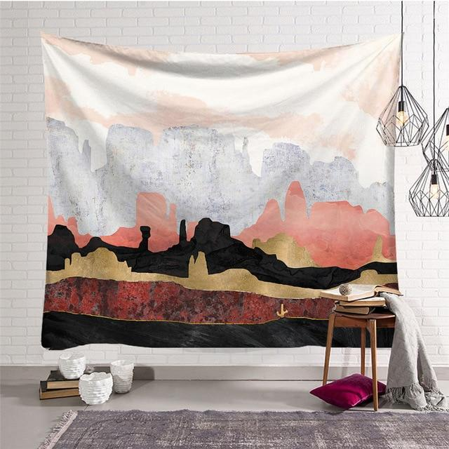 NORDIC STYLE 'WILD WEST' TAPESTRY-Tapestry-THE TAPESTRY STORE