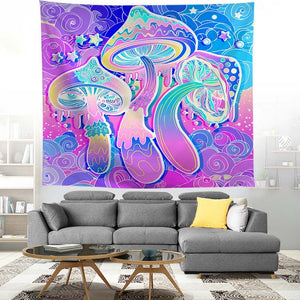 PURPLE HAZE (THREES A TRIP) PSYCHEDELIC TAPESTRY
