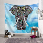VARIOUS COLOURFUL ELEPHANT DESIGN TAPESTRY WALL HANGINGS-Tapestry-THE TAPESTRY STORE