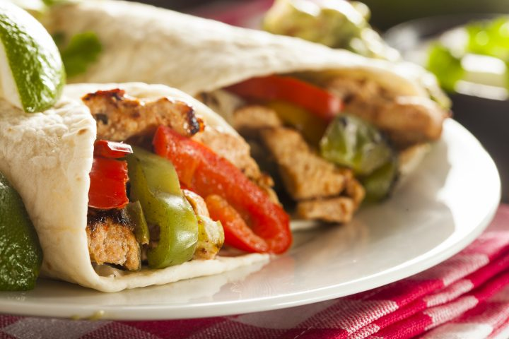 Beef or Chicken Fajitas recipe