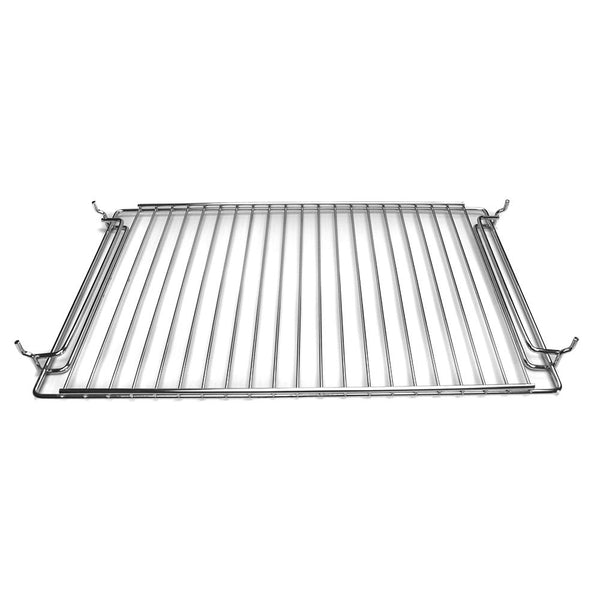 Wire cooking grid, shown with rack supports (sold separately)