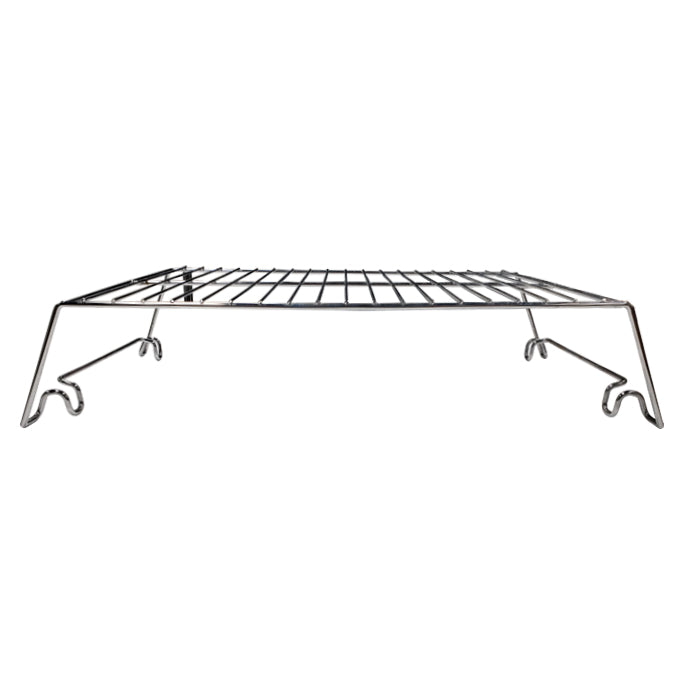 9007160172 - Piggy Back Rack Add-In Shelves from side showing legs that slot onto rack