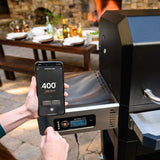 Gravity Series™ 800 Digital Charcoal Griddle + Grill + Smoker